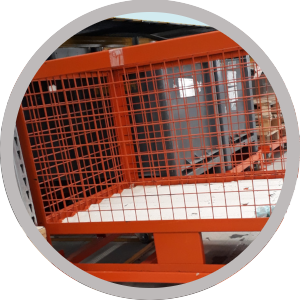 Image warehouse puller trolley